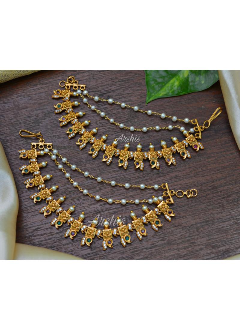 Mango Design with Pearls Mattals