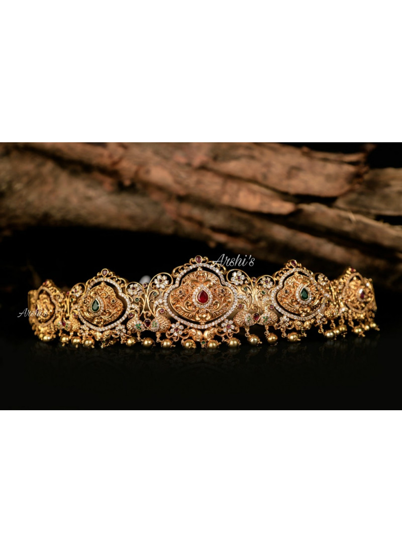 Traditional Dual Side Temple Hip Be..