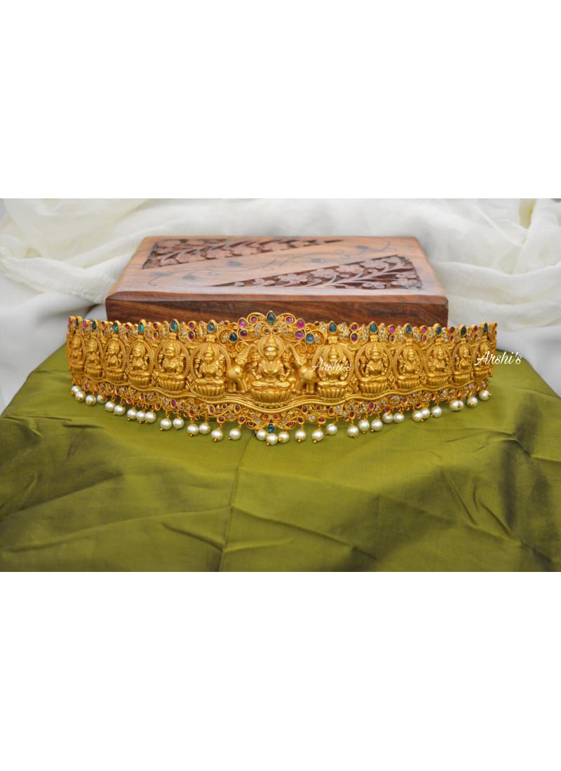 Bridal Temple Lakshmi Hip Belt