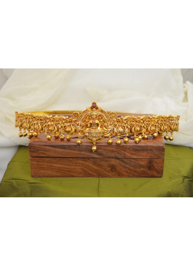 Gold Replica Bridal Lakshmi Hip Bel..
