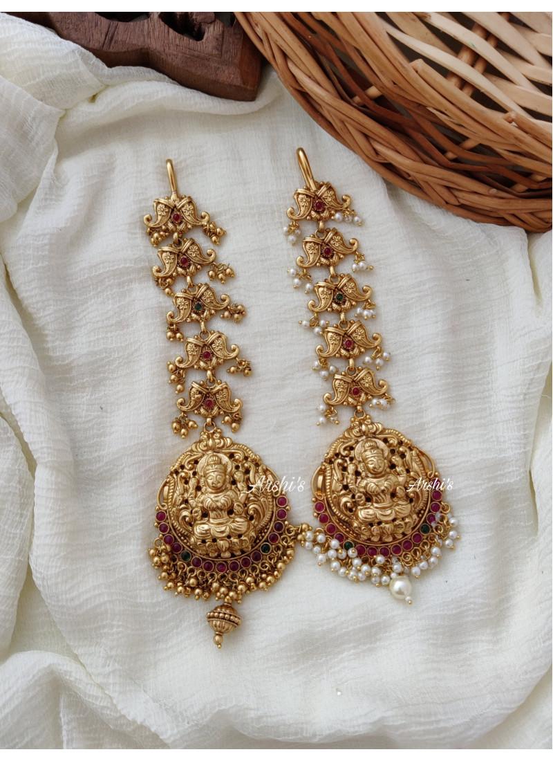 Beautiful Bridal Lakshmi Maang Tikk..