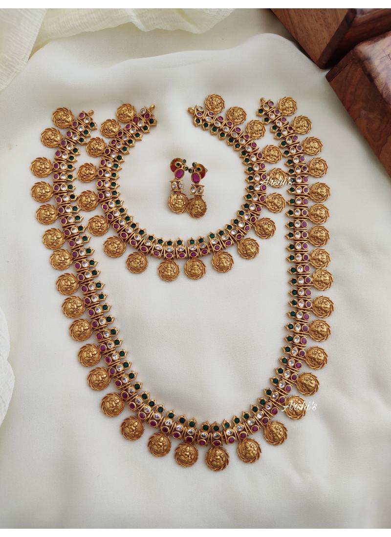 Bridal Lakshmi Coin Jewellery Set