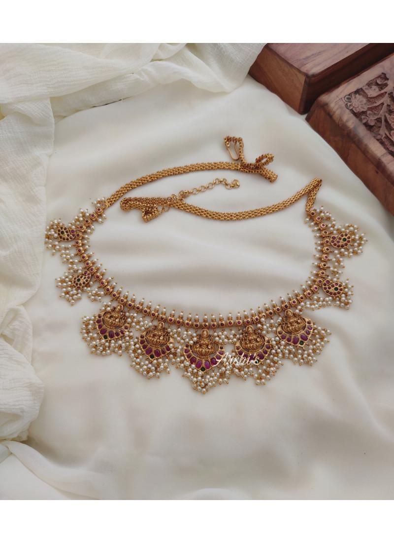 Trendy Bridal Guttapusalu Hip Chain