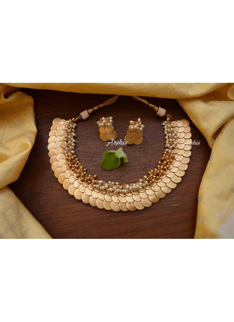Gorgeous Elegant Look Three Layer Coin Necklace