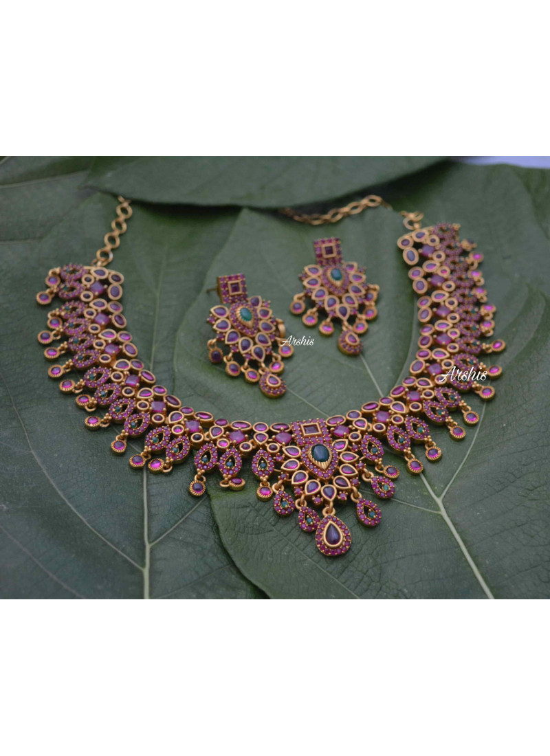 Gorgeous Real Kemp Necklace