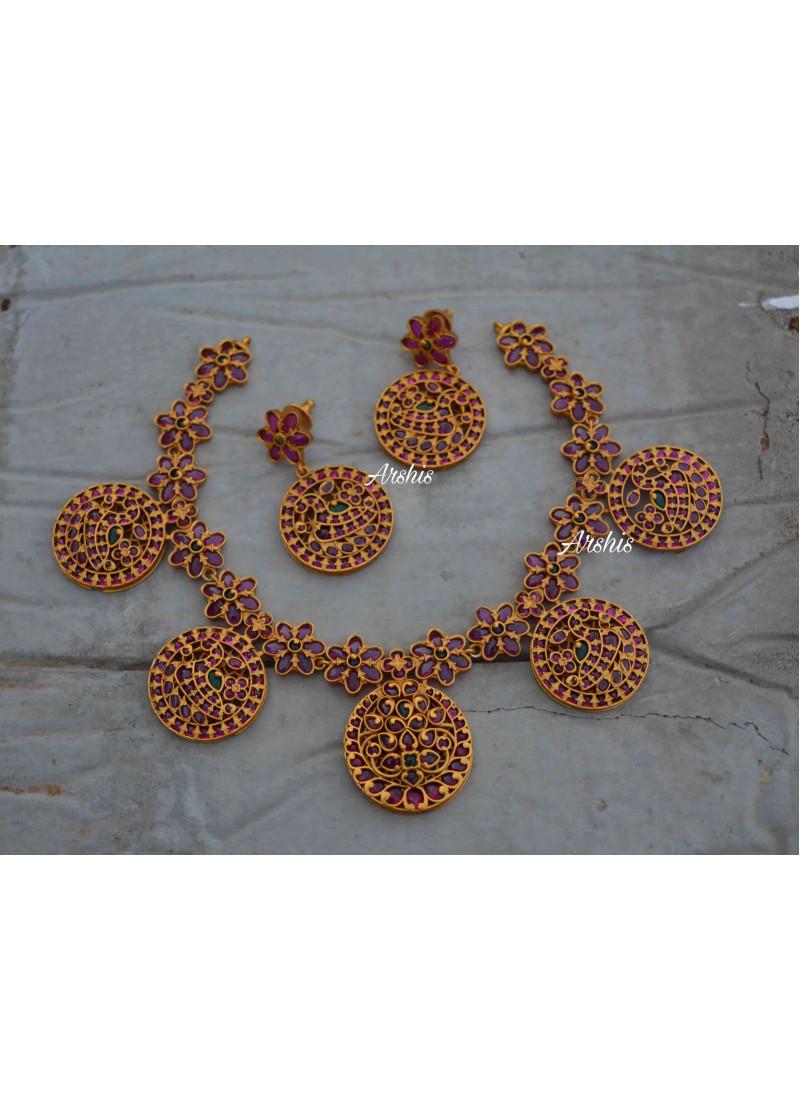 Premium Real Kemp Stone Necklace