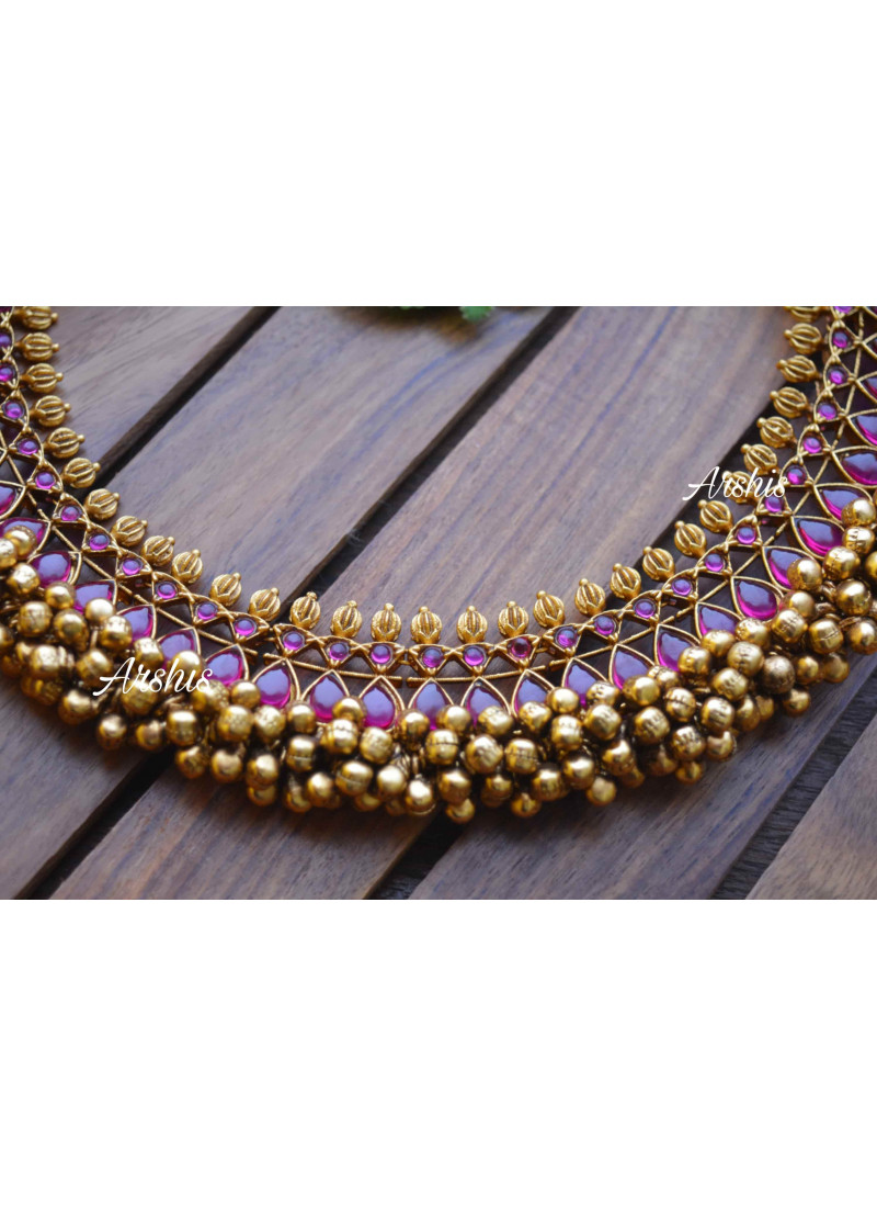 Trendy Original Kemp Ghunguroo Necklace
