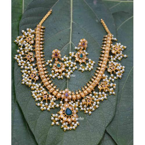 Classic Guttapusalu Necklace Set