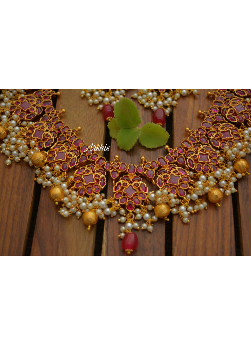 Gorgeous Full Kemp Pearl Necklace