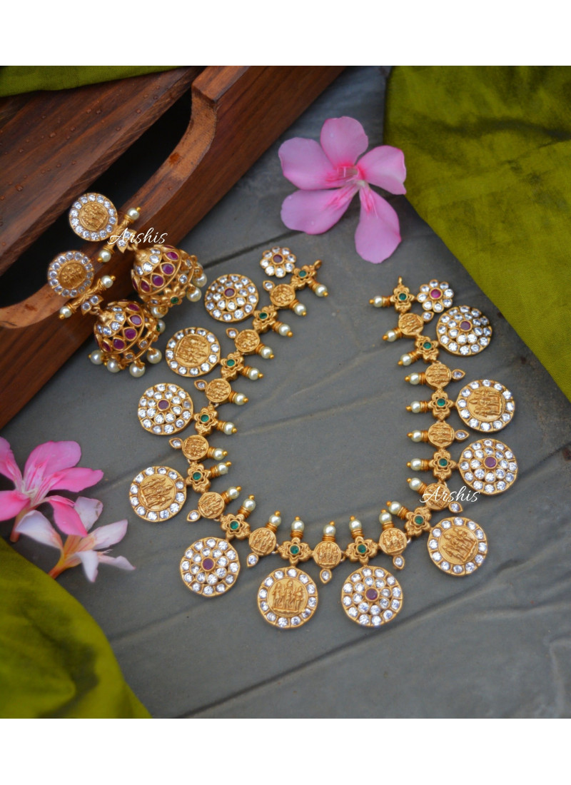 Elegant Traditional Ramparivar Necklace