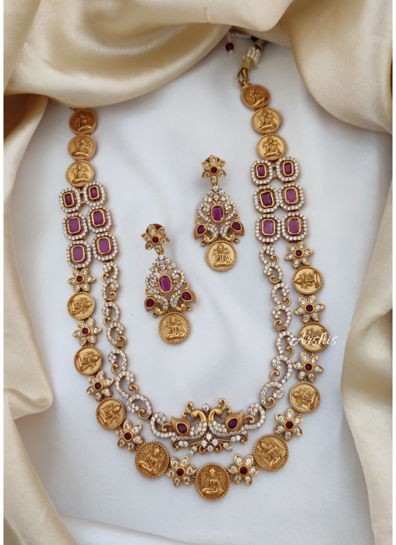 Two Layered AD Temple Necklace