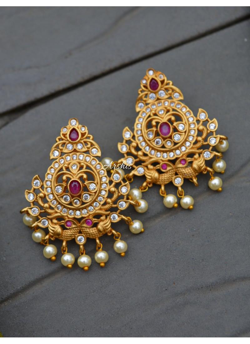 Five Layer Pure AD Stone Matte Necklace