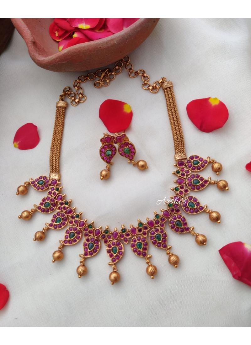 Cute Kemp Mango Necklace
