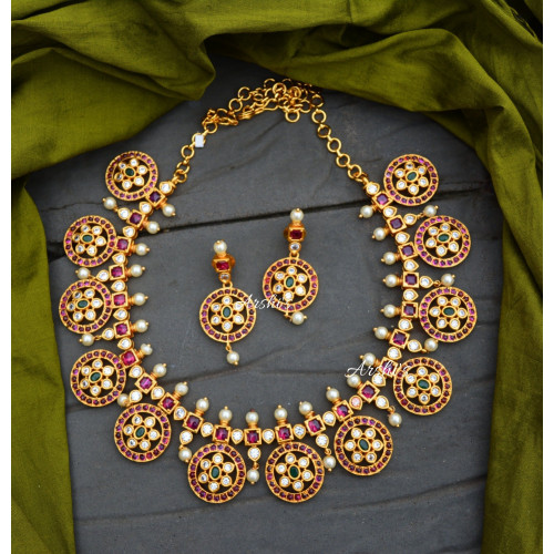 Beautiful Kemp and AD Stone Necklace