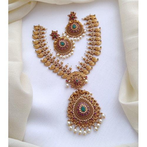 Trendy Beautiful Mango Necklace
