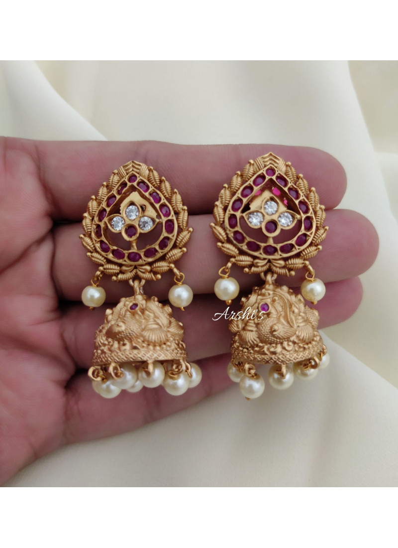 Imitation Peacock Lakshmi Coin Necklace