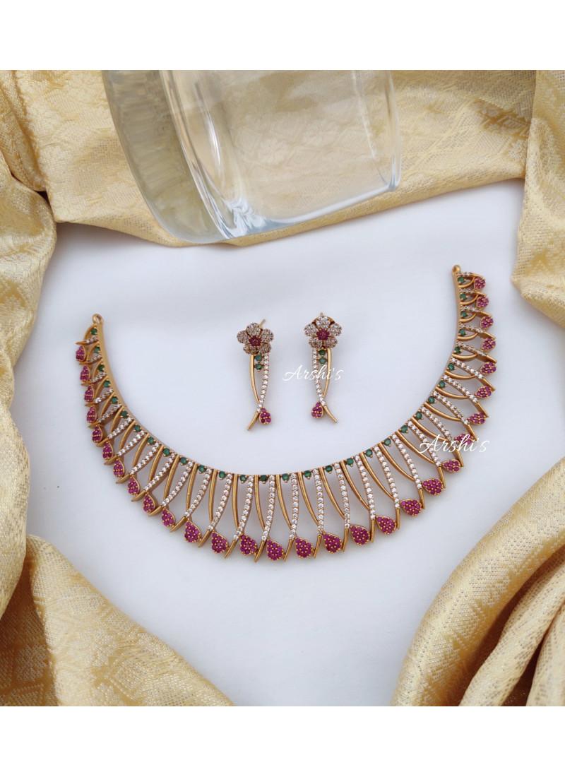 Stunning AD Stone Necklace
