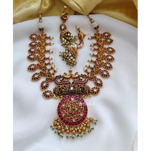 Gunguro Real Kemp Bridal Mango Necklace