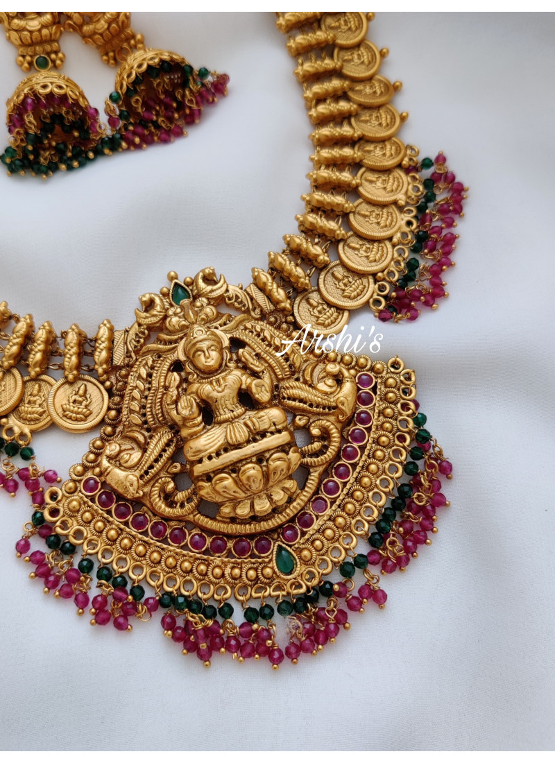 Traditional Lakshmi Coin with Pendant Necklace