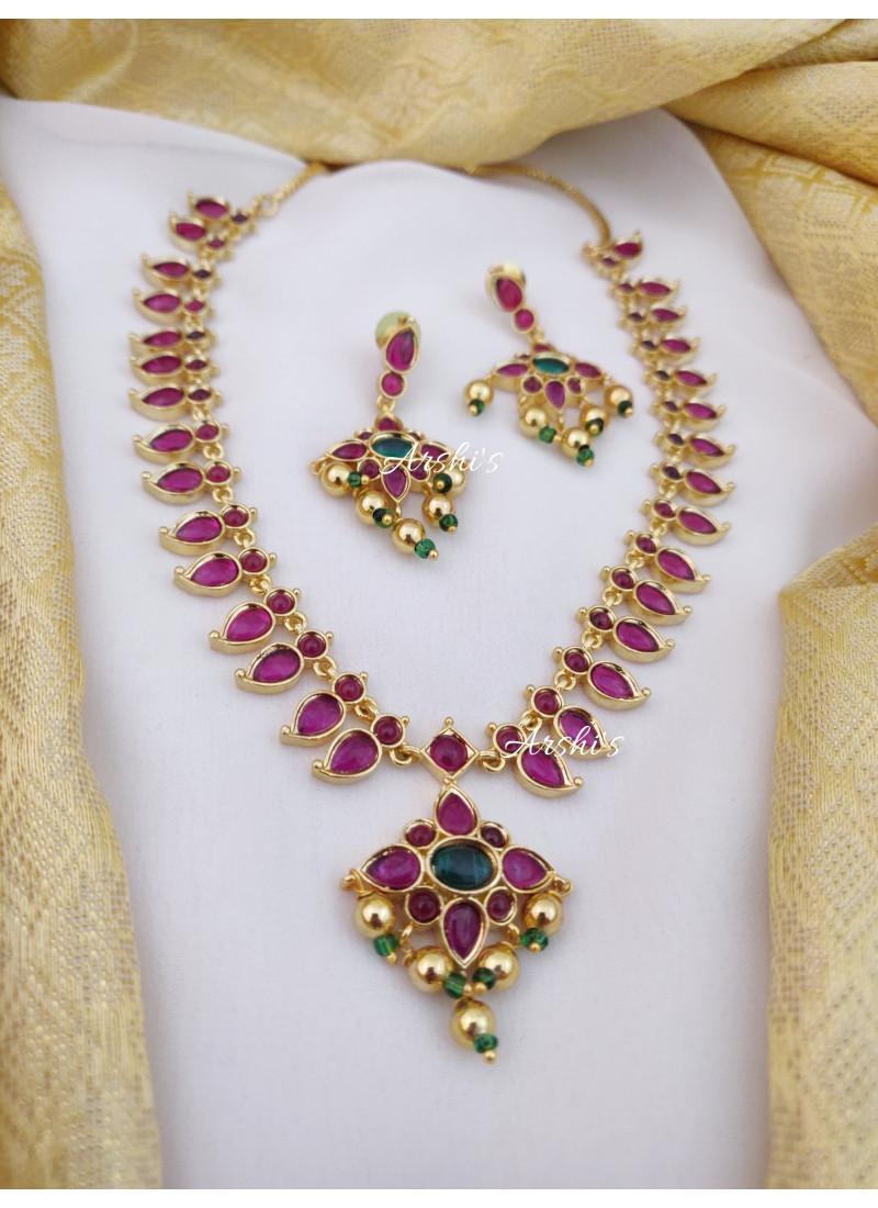 Mango Design Kemp Stone Necklace