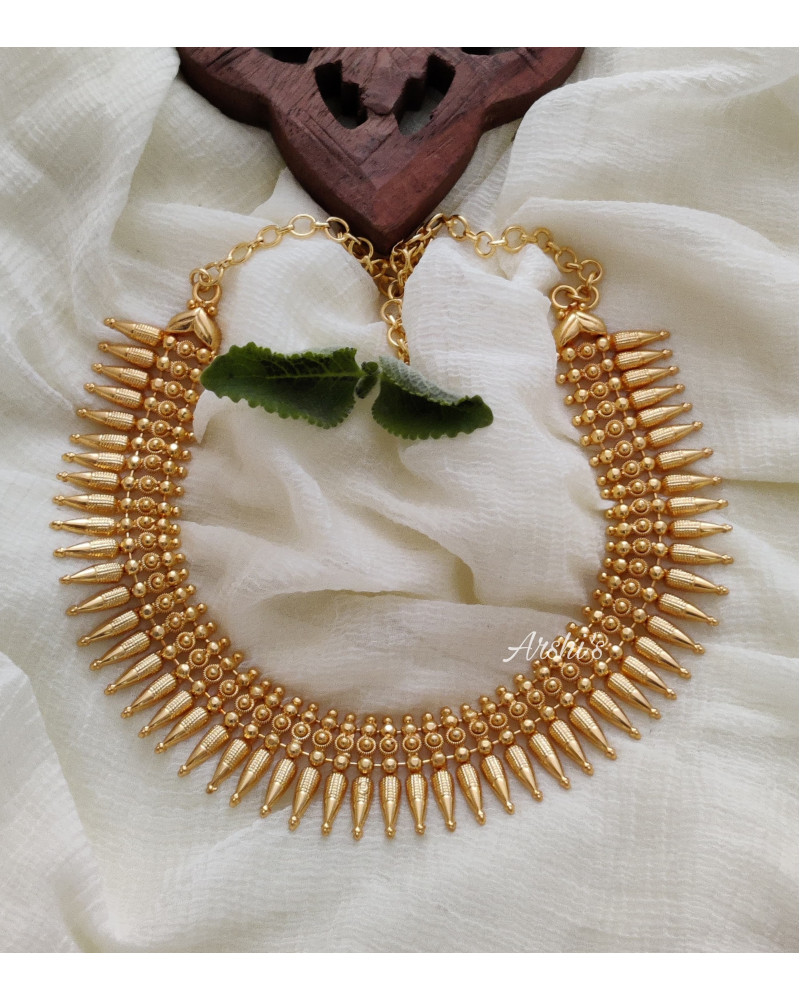 Trendy Mullamottu Mala Necklace