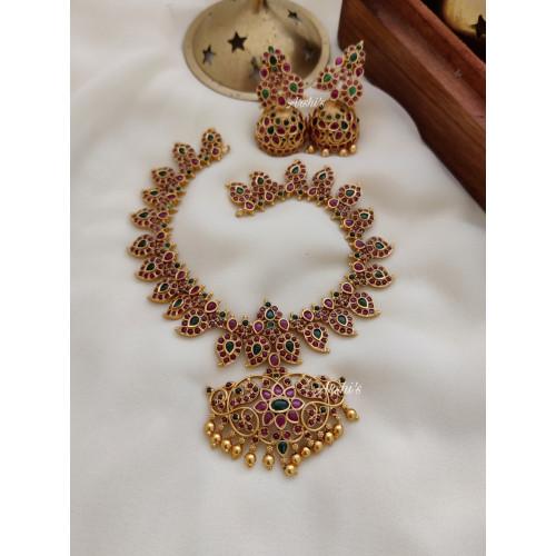 Mango Design Real Kemp Short Necklace