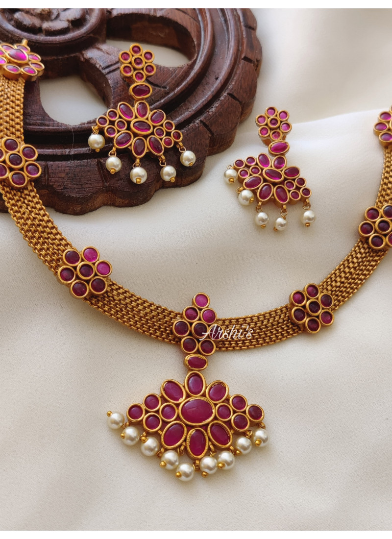 Real Kemp Simple Design Necklace