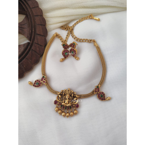 Simple and Traditional Ganesha Necklace