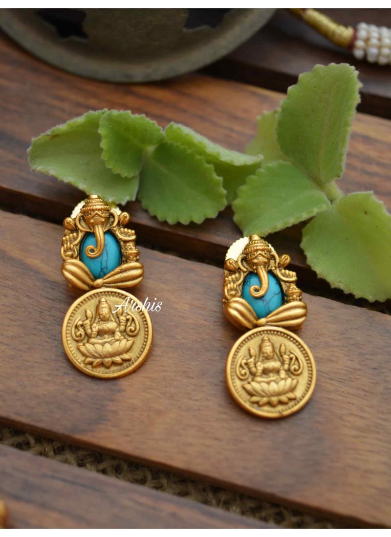 Ganesha Lakshmi Coin Necklace