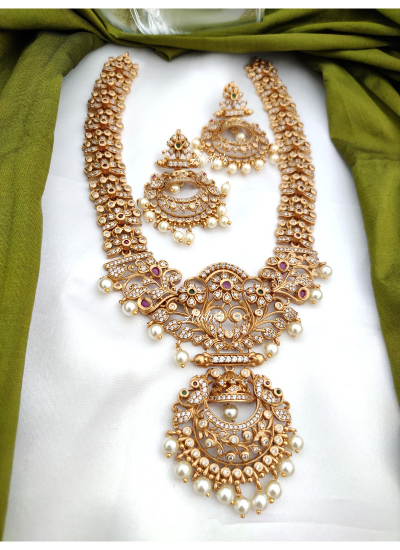 Matte Heavy Grand AD Fixed Necklace