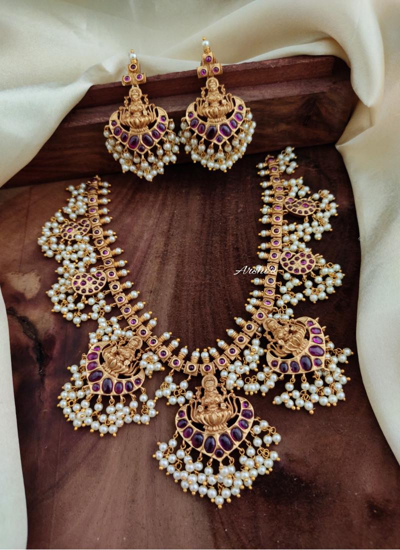 Premium Quality Lakshmi Guttapusalu Necklace