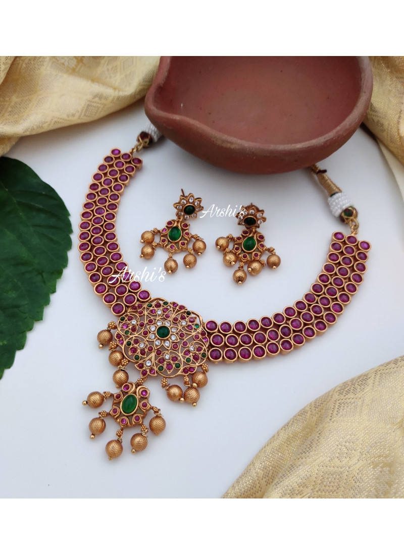 Trendy Grand Pure Kemp Necklace