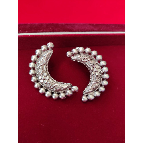 Antique German Silver Earring