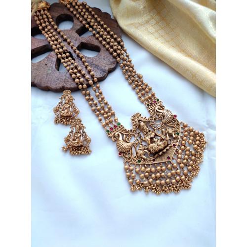 Grand Four Layered Lakshmi Haram