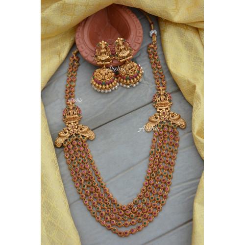 Gorgeous Five Layer Lakshmi Peacock Haram
