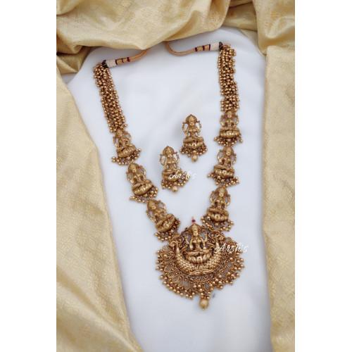 Gorgeous Antique Ghungroo Lakshmi Haram