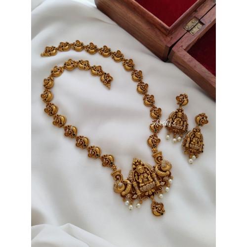 Beautiful Lakshmi Peacock Haram